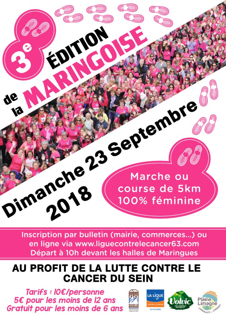 Affiche Maringoise 2018
