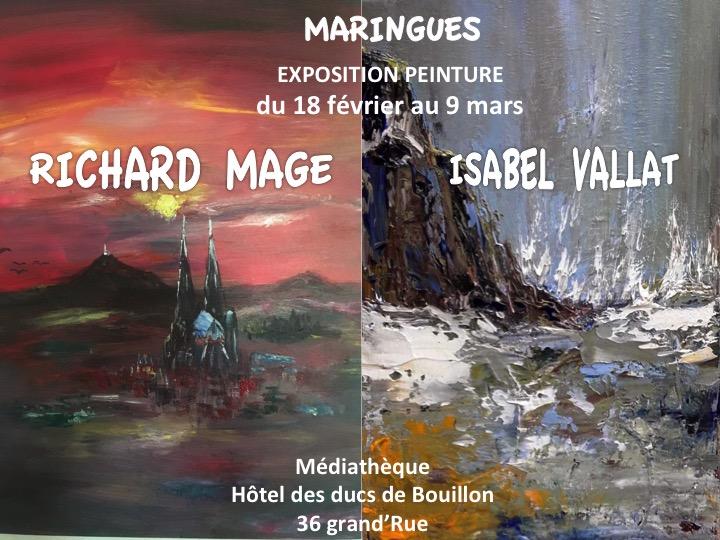 affiche R.Mage et I.valla