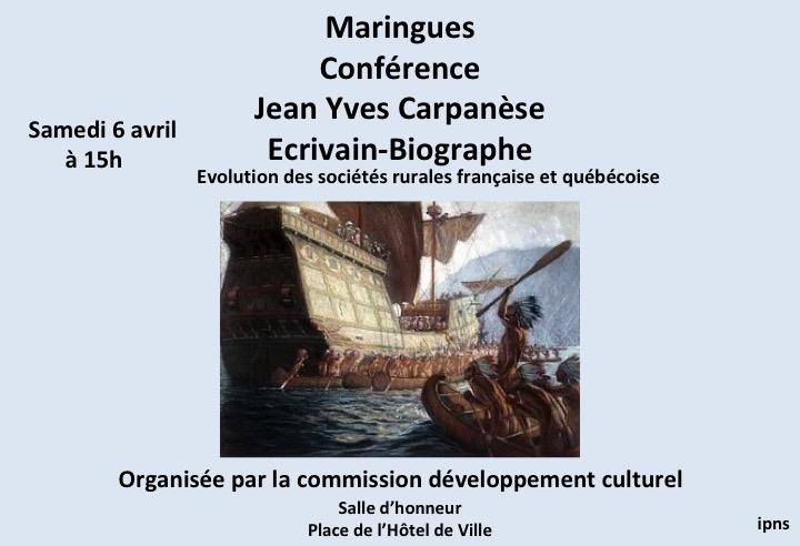 conférence Jean Yves Carpanèse